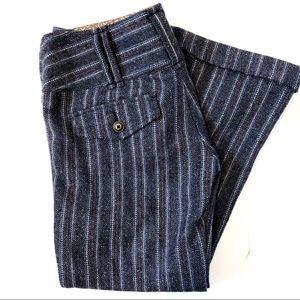 Free People wool flare pants